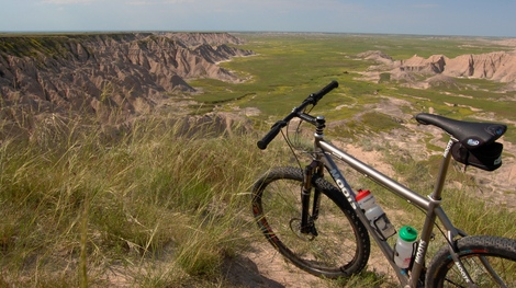 Biking the Badlands